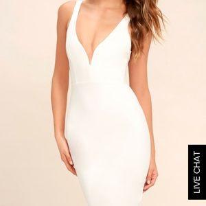 Lulu Plunge Dress